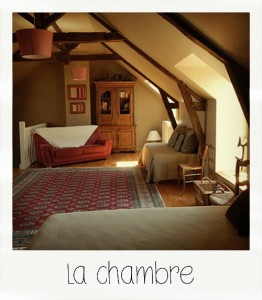 La Peuterne : the bedroom